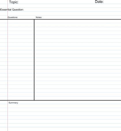 Reverse chronological resume template
